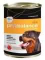 Корм для собак ProBalance Immuno Protection говядина с морковью 850г