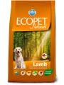 Корм Farmina Ecopet Natural Lamb Medium для средних пород с ягненком (12кг)