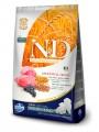 Корм Farmina N&D Low Grain Dog Lamb & Blueberry Puppy Medium & Maxi для щенков с ягненком и голубикой (12кг)