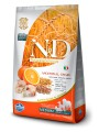 корм Farmina N&D Low Grain Goldfish & Orange Adult Mini для взрослых собак малых пород с треской и апельсином (12кг)
