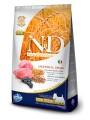 Корм Farmina N&D Low Grain Lamb & Blueberry Adult Mini для взрослых собак малых пород с ягненком и черникой (12кг)