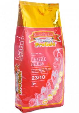 Корм Frank's ProGold Lamb and Rice 23/10 для собак с деликатным пищеварением с ягненком и рисом (3кг)