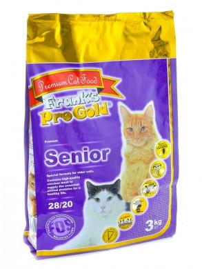 Корм Frank's ProGold Senior 28/20 для пожилых кошек (3кг)