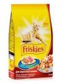 Корм Friskies Adult для взрослых кошек Мясо Курица Овощи  (10кг)