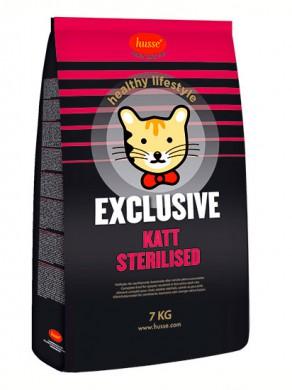Корм Husse Exclusive Katt Sterilised для стерилизованных кошек (2кг)