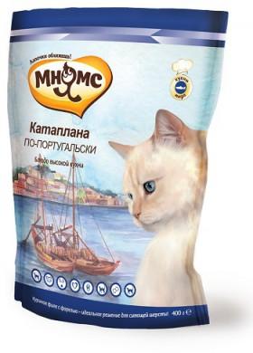 Корм Мнямс для взрослых кошек Катаплана по-португальски с форелью (400 г)
