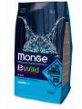 Корм Monge Bwild Cat Anchovies для взрослых кошек с анчоусами (1,5 кг)