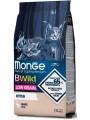 Корм Monge Cat Bwild Low Grain Kitten для котят из мяса гуся (1,5 кг)