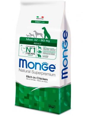 Корм Monge Dog Maxi для взрослых собак крупных пород (12 кг)
