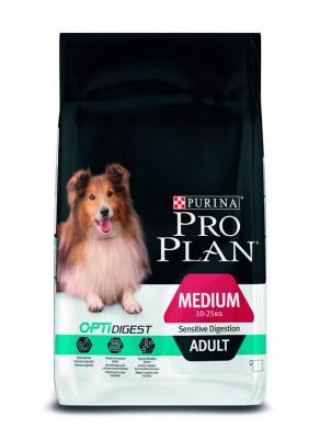 Корм Pro Plan Adult Digestion для взрослых собак с чувствительным пищеварением с ягненком
