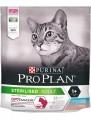 Корм Pro Plan Sterilised OptiSavour для стерилизованных кошек с треской и форелью