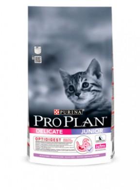 Корм ProPlan Junior Delicate для котят с индейкой (10кг)