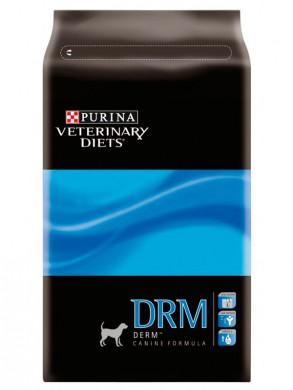 Корм Purina DRM Derm для собак с заболеваниями кожи (3кг)