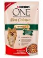 """Корм Purina One """"Моя Собака Непоседа"""" для взрослых собак мелких пород c Говядиной, картофелем и морковью в подливе (100гр)"""