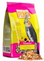 Корм Rio для средних попугаев, в период линьки 500 г