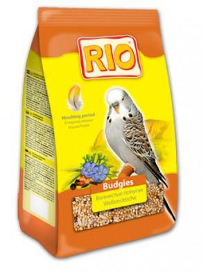 Корм Rio для волнистых попугайчиков, в период линьки (500 г)