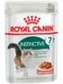 Корм Royal Canin Instinctive +7 для кошек старше 7 лет в желе (85гр)