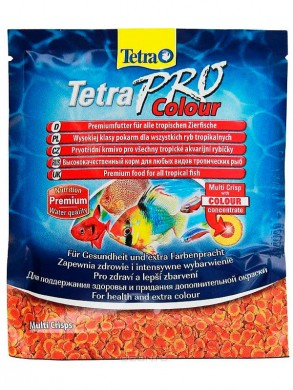 Корм Tetra Pro Colour Crisps для декоративных рыб (12гр)
