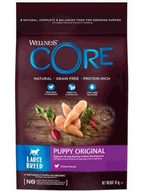Корм Wellness Core Puppy Original Large Breed для щенков крупных пород из курицы (10 кг)