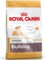 Корм Royal Canin Bulldog Junior для щенков английского бульдога до 12 месяцев (12кг)