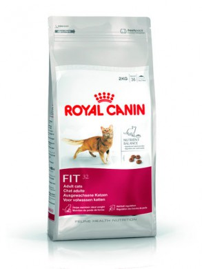 Корм Royal Canin Fit 32 для кошек с нормальной активностью (15кг)