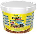 Корм Tetra Cichlid Colour для всех видов цихлид для улучшения окраса, ведро (10л)