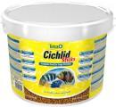 Корм Tetra Cichlid Sticks для всех видов цихлид в палочках, ведро (10л)
