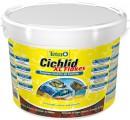 Корм Tetra Cichlid XL для всех видов цихлид, крупные хлопья, ведро (10 л)