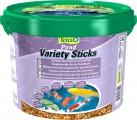 Корм Tetra Pond Variety Sticks для прудовых рыб (3 вида палочек) 10 л