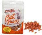Лакомство Брава для для кошек куриные палочки с рисом и кунжутом (45гр)