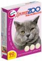 Витаминизированное лакомство для кошек Доктор ZOO со вкусом говядины (90таб)