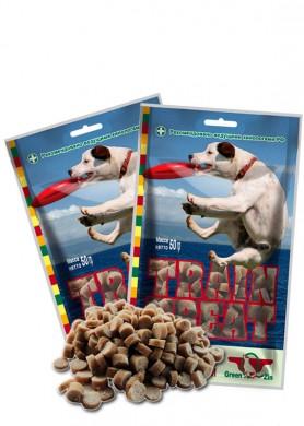 Лакомство для собак Green Cuisine Дрессура №1 ( утка+тунец)