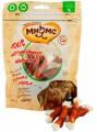 Лакомство для собак Мнямс кальцинированные косточки с утиным мясом 100 г