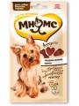 Лакомство Мнямс для собак мелких пород ассорти: говядина, ягненок, курица (60гр)
