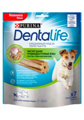 Лакомство Purina Dentalife Small Dog для мелких пород собак (115гр)