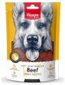 Лакомство Wanpy Dog соломка из вяленой говядины (100 г)