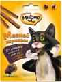 Лакомые палочки для кошек Мнямс Мясной карнавал индейка/ягненок (3х4г)