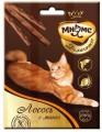 Лакомые палочки Мнямс Деликатес для кошек с лососем и манго 9см (3х4 г)