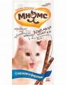 Лакомые палочки Мнямс для кошек Лосось Форель (13,5см*3шт)