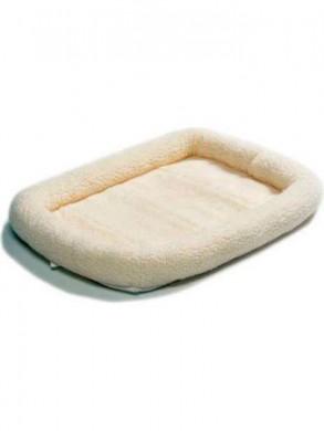 Лежанка MidWest Pet Bed флисовая белая (53х30 см)