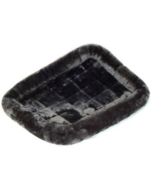 Лежанка MidWest Pet Bed меховая серая (61х46 см)
