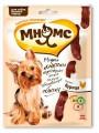 Мини-колбаски Мнямс для собак мелких пород с курицей (75 г)