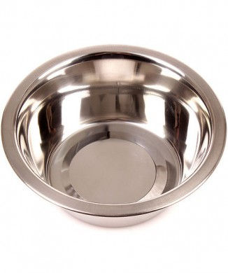 Миска металлическая объемная 3091 (480гр)