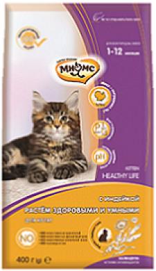 Сухой корм Мням Kitten для котят с индейкой 10 кг