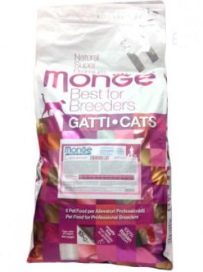 Корм Monge Cat Indoor для домашних кошек