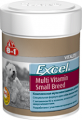 Мультивитамины 8in1 Excel для взрослых собак мелких пород (70 таб.)