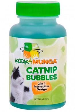 Мыльные пузыри для кошек Kookamunga Catnip Bubbles 2in1 с кошачьей мятой 148 мл