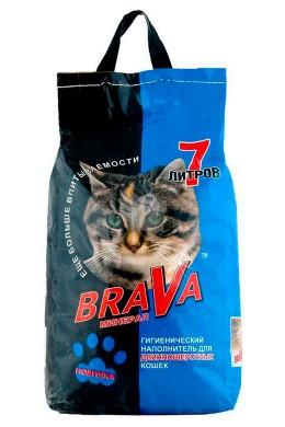 Наполнитель Brava для длинношерстных кошек (7л)