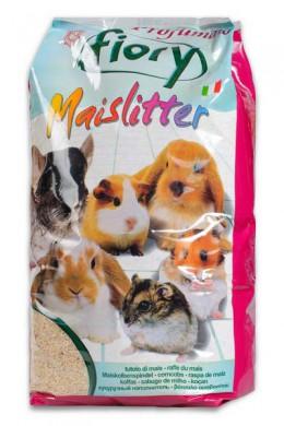 Наполнитель кукурузный Fiory Maislitter Profumato для грызунов дикие ягоды 5 л