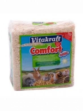 Опилки для рызунов Vita Kraft Comfort Classic (15л)
